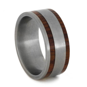 HONDURAN ROSEWOOD RING, MATTE WEDDING BAND-2744 - Cairo Men's Wedding Rings