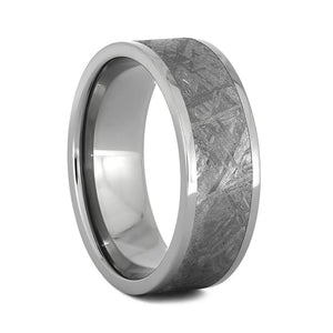 METEORITE RING IN TITANIUM-2259 - Cairo Men's Wedding Rings