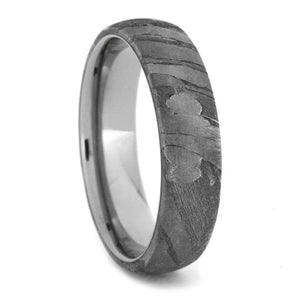 SEYMCHAN METEORITE MEN'S WEDDING BAND-1721 - Cairo Men's Wedding Rings