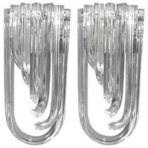 CURVE WALL SCONCE DESIGN by CARLO NASON pair