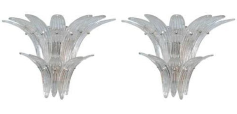 Palmette Wall Sconce pair