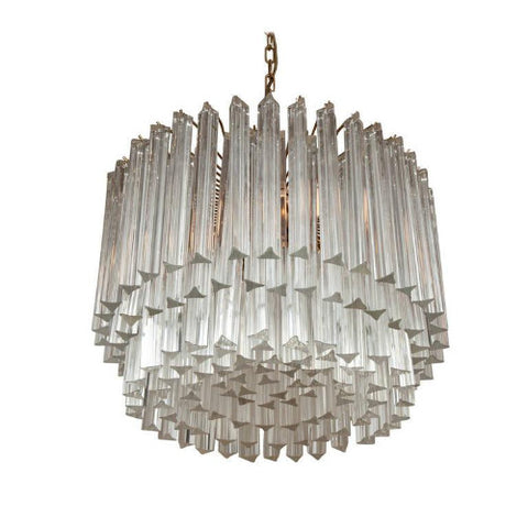 Camer Style Murano Glass Chandelier for Venini