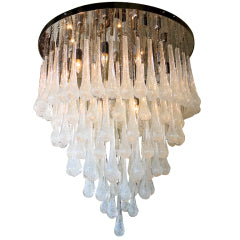 DROPS CEILING MOUNT CHANDELIER