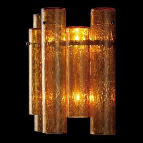 WALL LAMP TUBE 2 LIGHTS  (pairs)