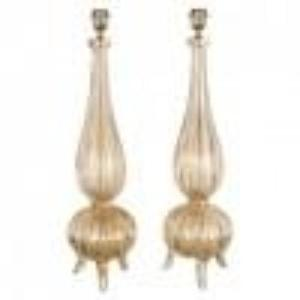 BAROVIER DESIGN 3 LEG LAMPS  pair  trade