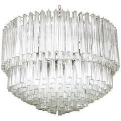Exquisite Camer Style Murano Glass Chandelier