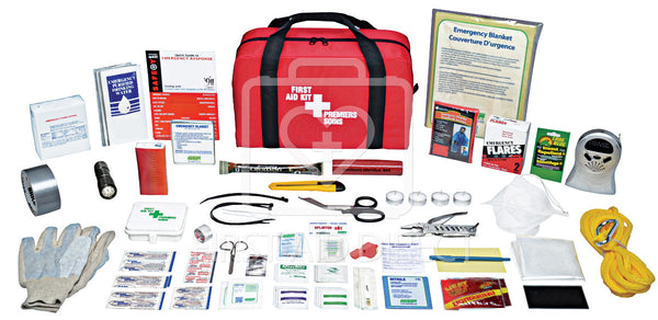 KIT, EMERGENCY PREPAREDNESS, DELUXE