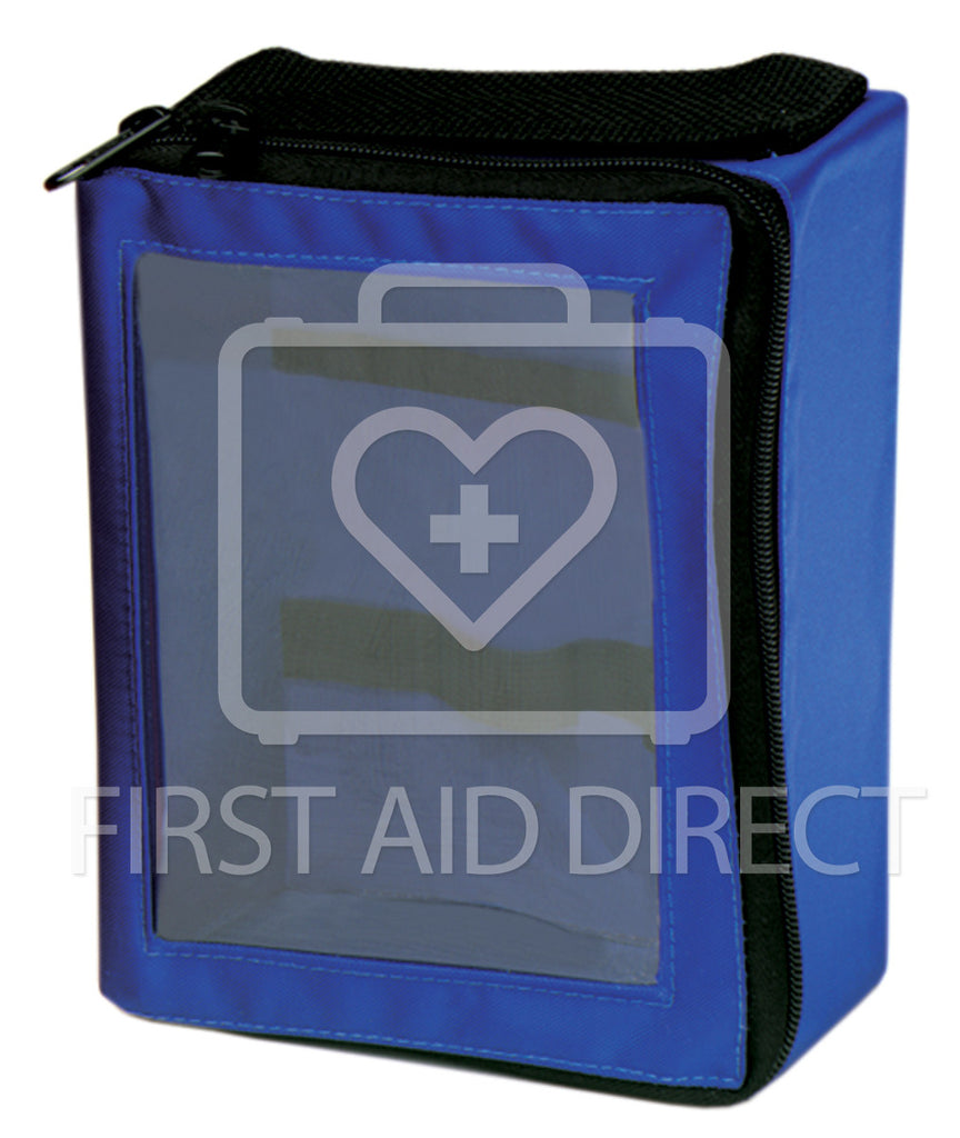 "NYLON TRAUMA BAG INSERT, BLUE, 19.1 x 14.6 x 9.5 cm (7-1/2"" x 5-3/4"" x 3-3/4"")"