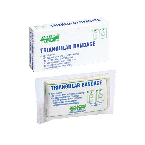 "TRIANGULAR BANDAGE, 101.6 x 101.6 x 142.2 cm, (40"" x 40"" x 56""), COMPRESSED, 1/BOX"