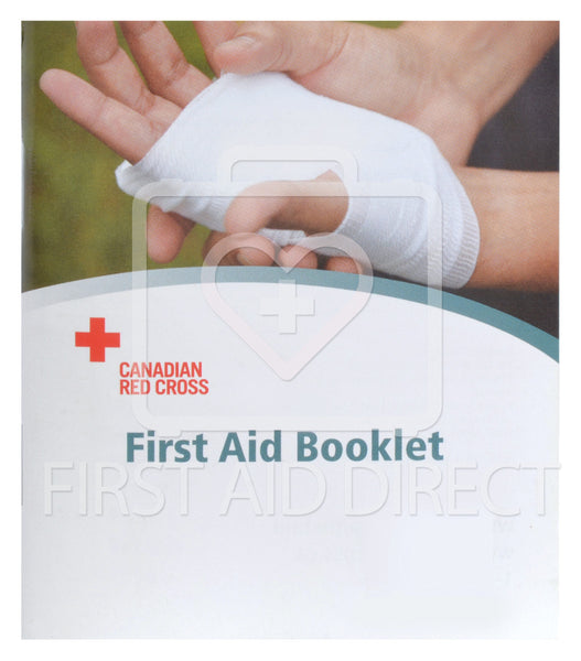 CANADIAN RED CROSS, POCKET GUIDE (ENGLISH/FRENCH)