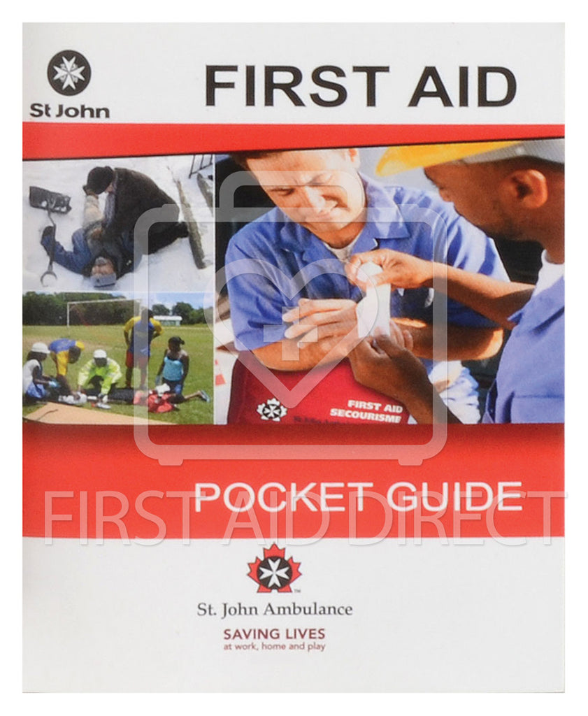 ST. JOHN AMBULANCE, POCKET GUIDE (ENGLISH/FRENCH)