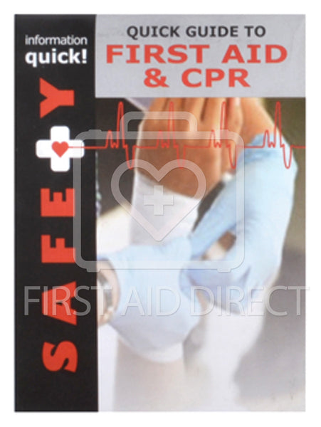 QUICK BOOKS, GUIDE TO FIRST AID & CPR, SMALL