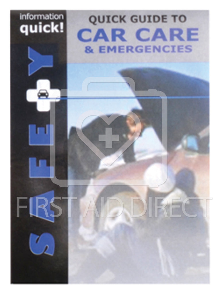 QUICK BOOKS, GUIDE TO CAR CARE & EMERGENCIES