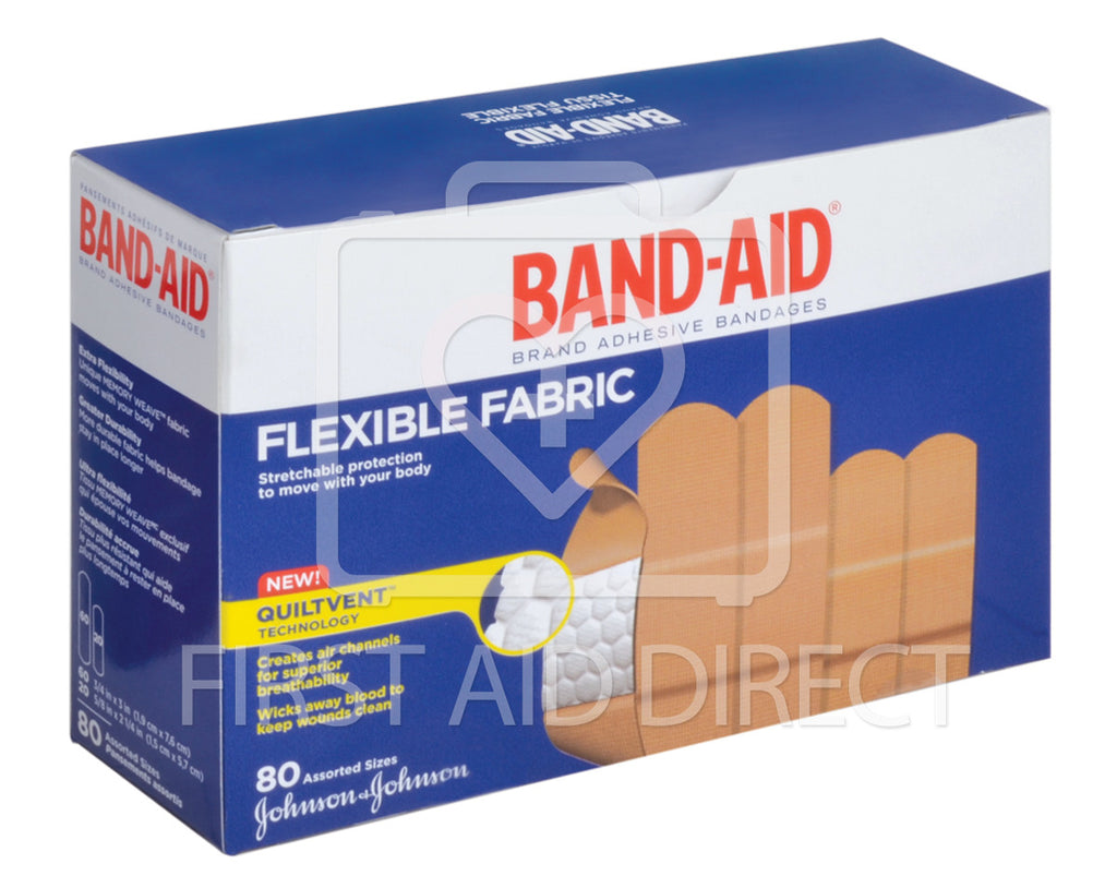 BAND-AID BRAND, FABRIC BANDAGES, ASSORTED, 80's