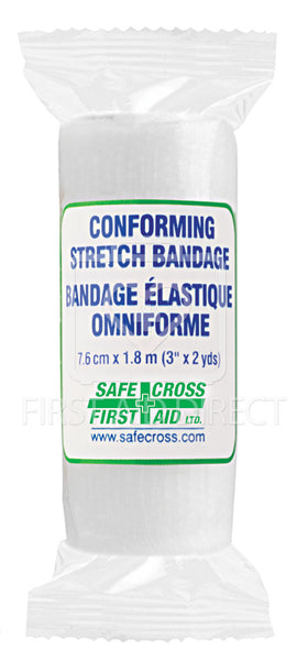 CONFORMING STRETCH BANDAGE, 7.6 cm x 1.8 m