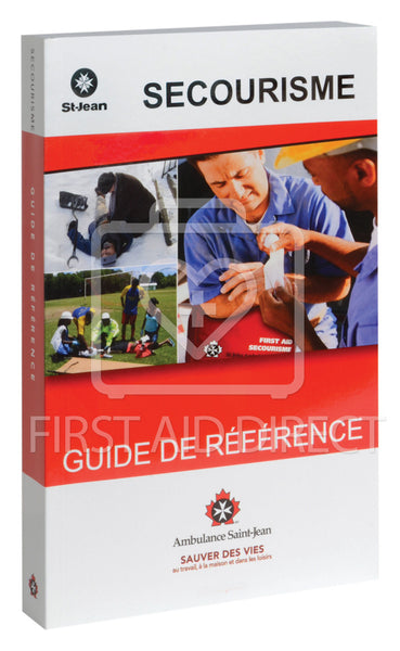 ST. JOHN AMBULANCE, GUIDE DE REFERENCE (FRENCH)