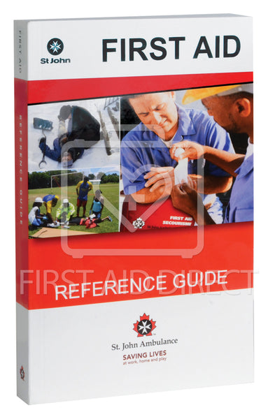 ST. JOHN AMBULANCE, REFERENCE GUIDE (ENGLISH)