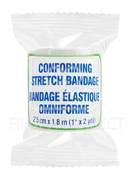 CONFORMING STRETCH BANDAGE, 2.5 cm x 1.8 m