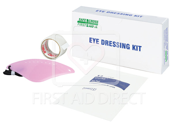 EYE DRESSING KIT w/1 EYE PAD, 1 EYE SHIELD, 1 TAPE