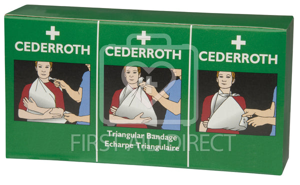 CEDERROTH, TRIANGULAR BANDAGE REFILLS, 2's