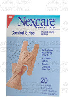 Comfort Bandage Strips, Assorted