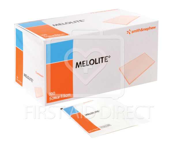 MELOLITE, LOW-ADHERENT DRESSINGS, 5.1 x 7.6 cm, 100's, STERILE