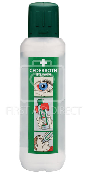 CEDERROTH, EYE WASH, 500 mL, STERILE