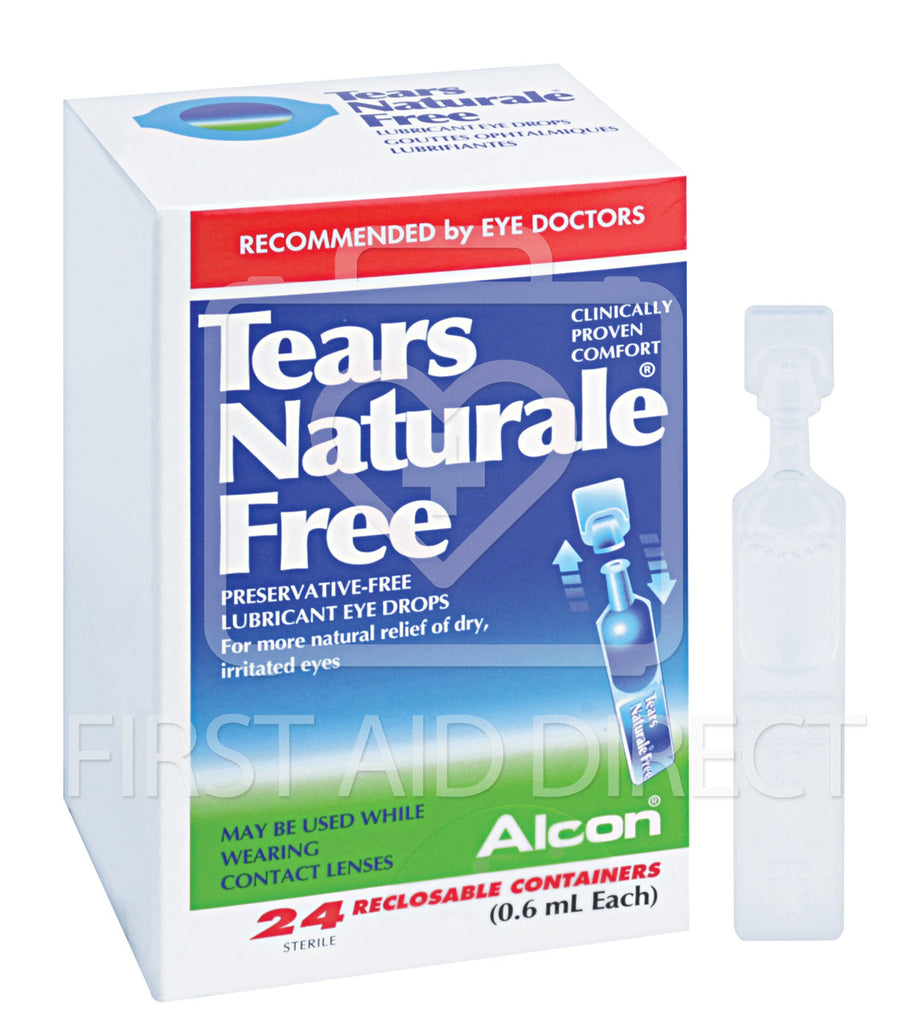 TEARS NATURALE FREE, 0.6 mL, 24's