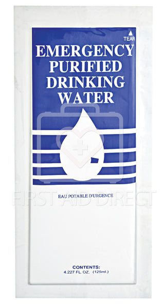WATER, PURIFIED DRINKING, 125 mL