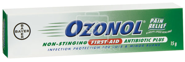 OZONOL, ANTIBIOTIC PLUS OINTMENT, 15 g