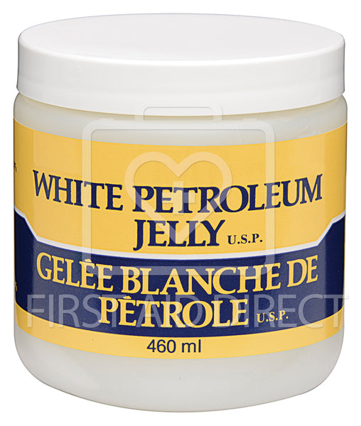 WHITE PETROLEUM JELLY, 460 mL