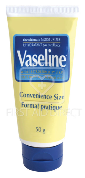 VASELINE, WHITE PETROLEUM JELLY, 50 g