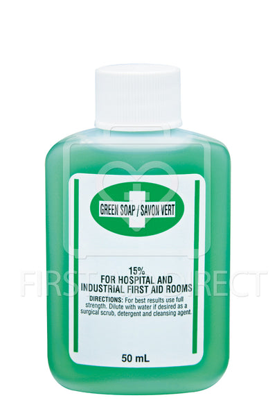 GREEN SOAP, ANTISEPTIC CLEANSER, 50 mL