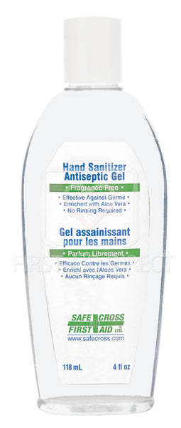 HAND SANITIZER, ANTISEPTIC GEL, 118 mL