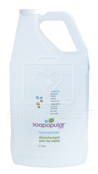 SOAPOPULAR, HAND SANITIZER, FOAMING, 4 L REFILL FOR ITEM 06227