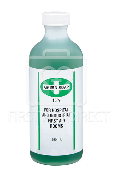 GREEN SOAP, ANTISEPTIC CLEANSER, 250 mL