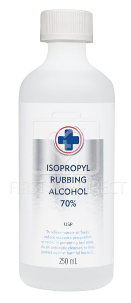 ALCOHOL ISOPROPYL RUBBING, 70%, 250 mL
