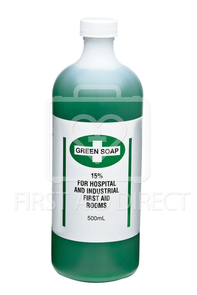 GREEN SOAP, ANTISEPTIC CLEANSER, 500 mL