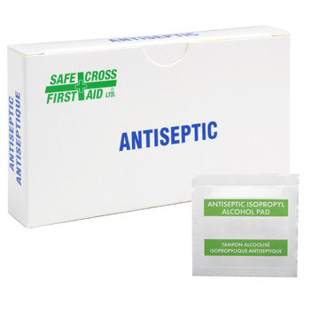 ALCOHOL ANTISEPTIC SWABS, 10's