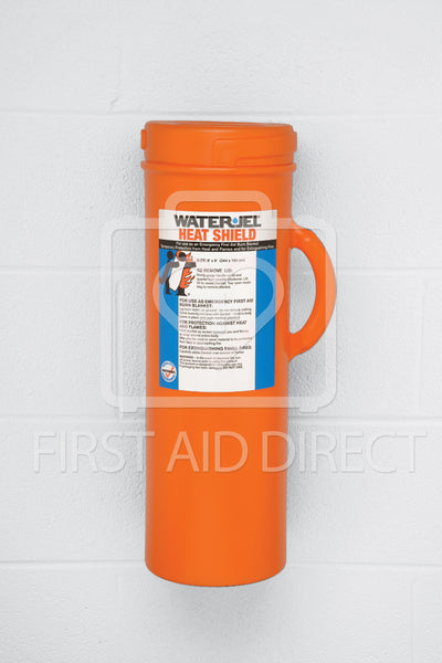 WATER-JEL, BURN WRAP/EXTINGUISHER IN CANISTER, 182.9 x 243.8 cm