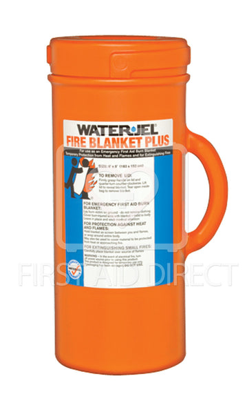 WATER-JEL, BURN WRAP/EXTINGUISHER IN CANISTER, 152.4 x 182.9 cm