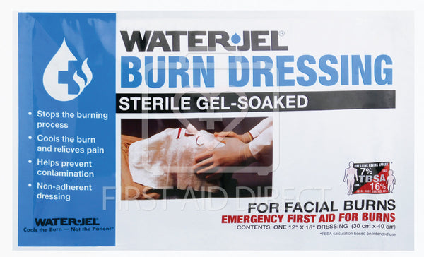 WATER-JEL, BURN DRESSING, FACE MASK, 30.5 x 40.6 cm