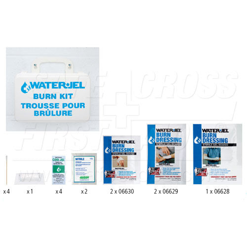 WATER-JEL, EMERGENCY BURN KIT, I