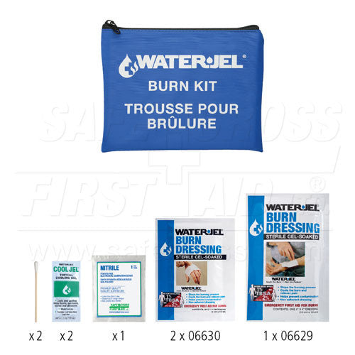 WATER-JEL, EMERGENCY BURN KIT, III