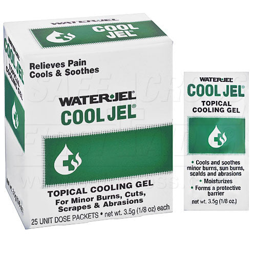 WATER-JEL, COOL JEL, 3.5 g, 25/BOX