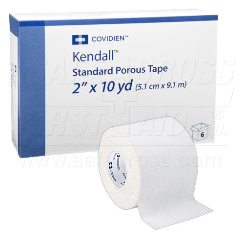 HOSPITAL TAPE, COTTON CLOTH, 5.1 cm x 9.1 m, 6's