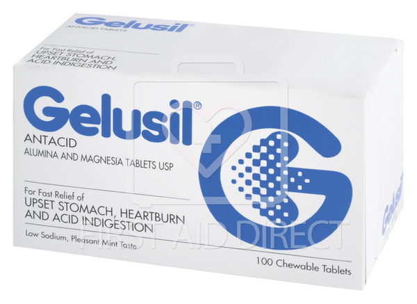 GELUSIL ANTACID TABLETS 100's