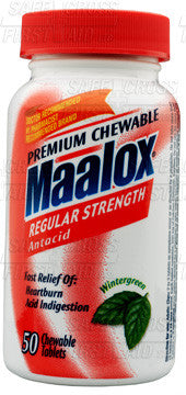 Maalox Tablets - 50/Bottle