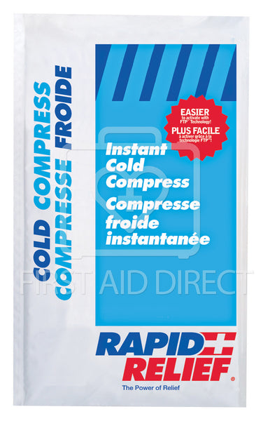 COLD PACK, INSTANT COLD, LARGE INSULATED, 15.2 x 22.9 cm