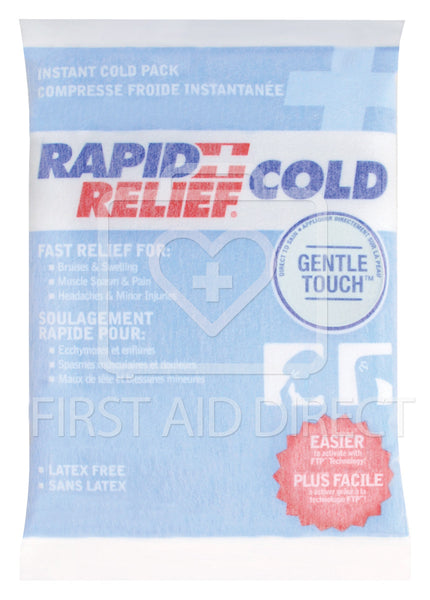 COLD PACK, GENTLE-TOUCH, INSTANT COLD, SMALL, 10.2 x 15.2 cm